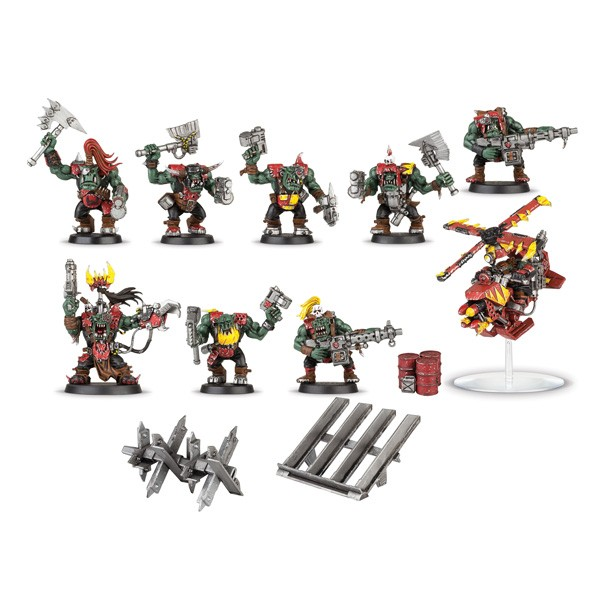 Warhammer 40000 - Space ork raiders