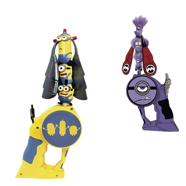 Flying Heroes Minions