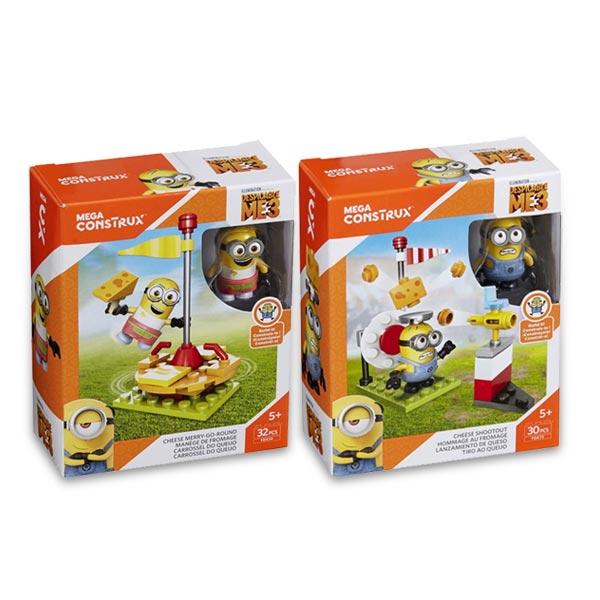 Moi moche et m chant 3 construction mega construx mega bloks king jouet lego planchettes - Lego moi moche et mechant ...