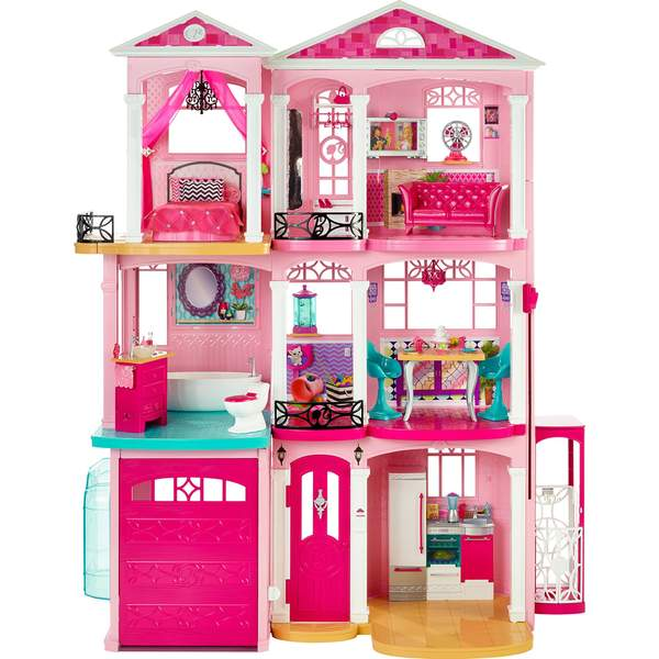 barbie maison de r ve mattel king jouet poup es. Black Bedroom Furniture Sets. Home Design Ideas