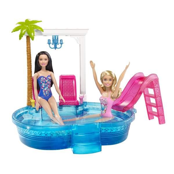 Piscine glamour Barbie