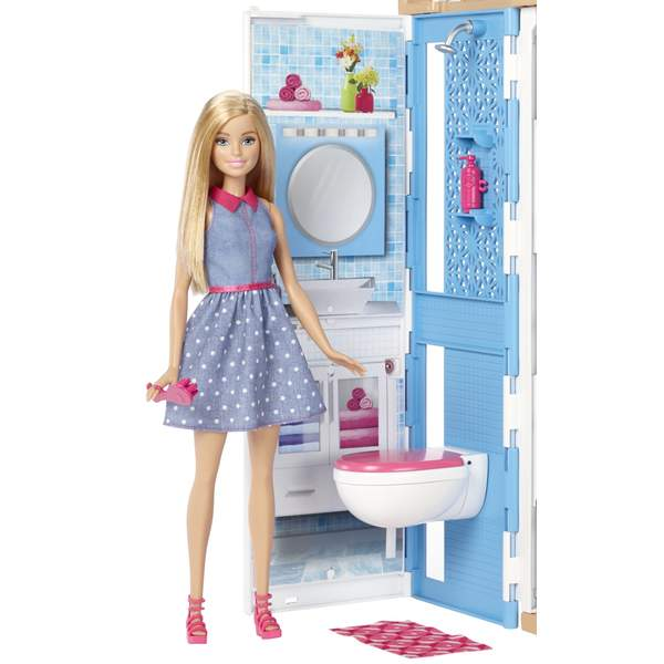 barbie et sa maison mattel king jouet poup es mannequin mattel poup es peluches. Black Bedroom Furniture Sets. Home Design Ideas