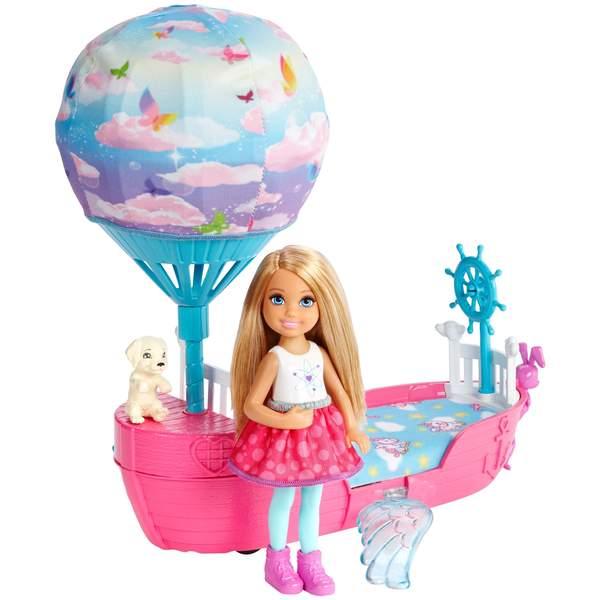 Barbie dreamtopia montgolfière