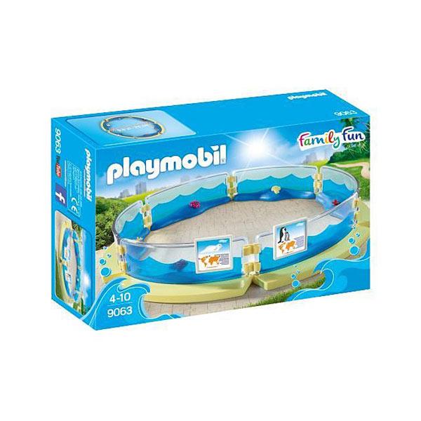 9063-Enclos pour animaux marins - Playmobil Family fun