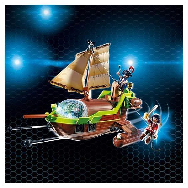 9000-Bateau pirate caméléon avec ruby - Playmobil Super4