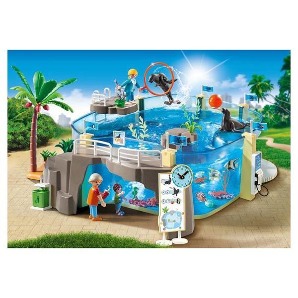 9060-Aquarium marin - Playmobil Family fun