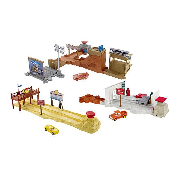 cars 3 piste mattel king jouet garages et circuits. Black Bedroom Furniture Sets. Home Design Ideas