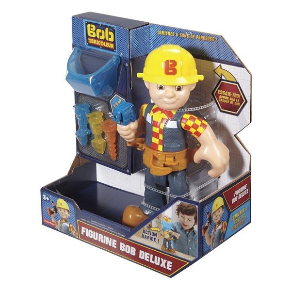 Figurine Deluxe Bob Le Bricoleur Fisher Price King Jouet Figurines Fisher Price Jeux D Imitation Mondes Imaginaires