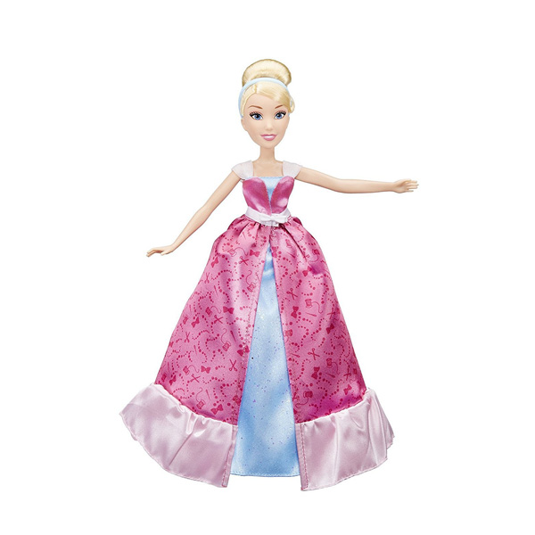 Disney Princesses - Poupée Cendrillon Tenue Magique