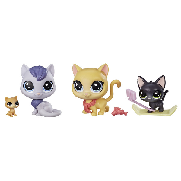 littlest petshop famille de pets hasbro king jouet. Black Bedroom Furniture Sets. Home Design Ideas