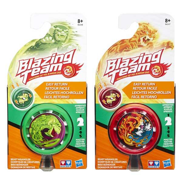 Yo-yo Blazing Team dompteur de créatures niveau 2