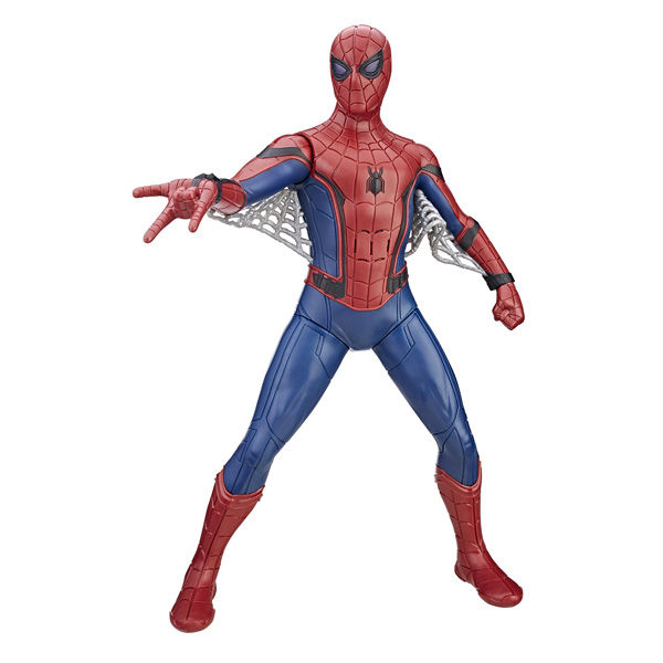 spiderman titan interactif hasbro king jouet figurines et cartes collectionner hasbro. Black Bedroom Furniture Sets. Home Design Ideas