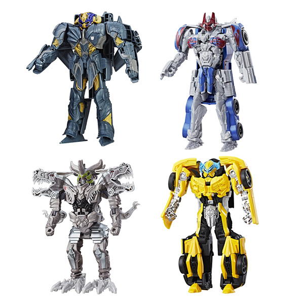 transformers 5 figurine armor up turbo changers hasbro king jouet figurines hasbro jeux d. Black Bedroom Furniture Sets. Home Design Ideas