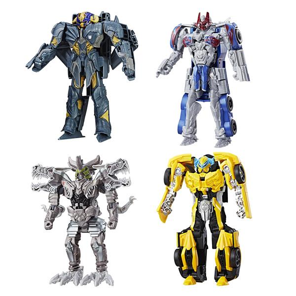 Transformers 5-Figurine Armor Up Turbo Changers