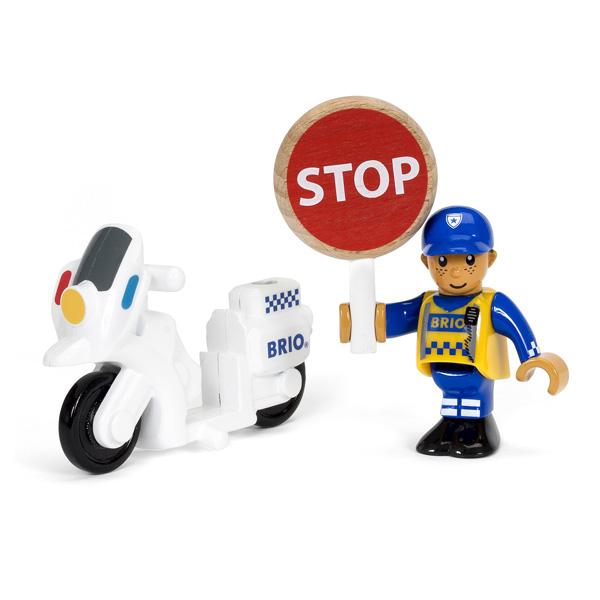 4dc03c21443595 Brio 33861-Moto de Police Brio   King Jouet, Figurines Brio - Jeux d ...