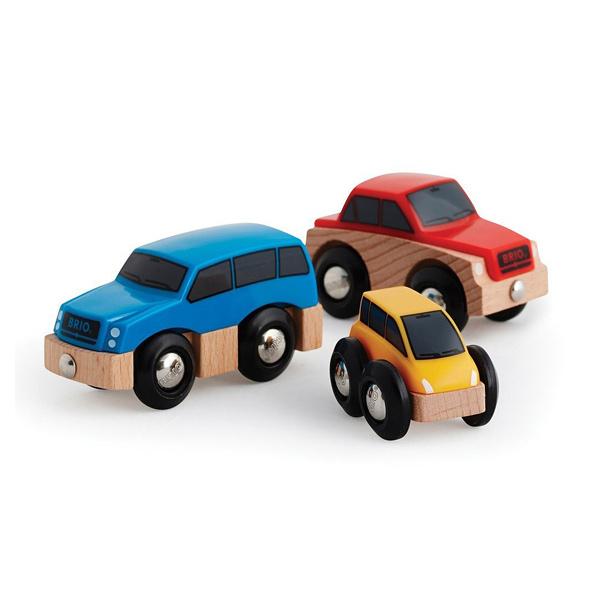 Brio-Coffret de 3 voitures