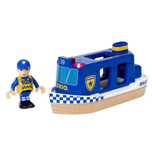 Brio-Bâteau patrouille de Police