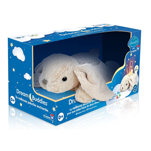 Peluche veilleuse lapin dujardin king jouet veilleuses for Dujardin jouet