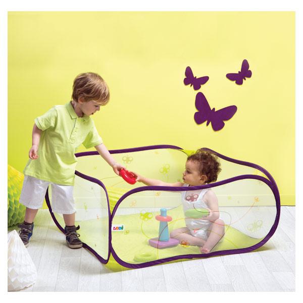 aire de jeu pop up papillon ludi king jouet activit s d 39 veil ludi jeux d 39 veil. Black Bedroom Furniture Sets. Home Design Ideas