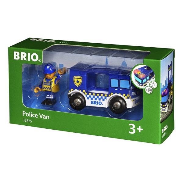 Brio 33825-Camion de¨Police son et lumière