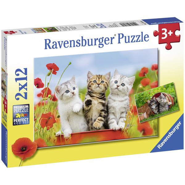 Puzzles 2 x 12 pièces Ravensburger
