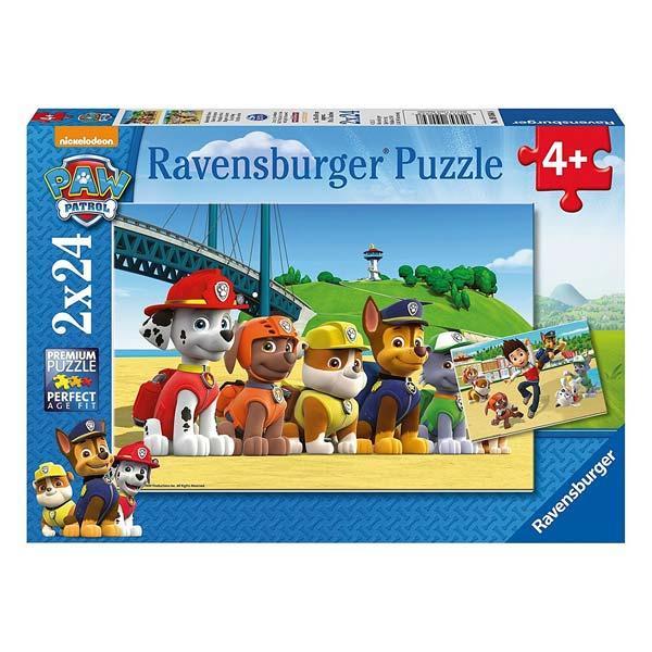 2 puzzles 24 pièces Ravensburger
