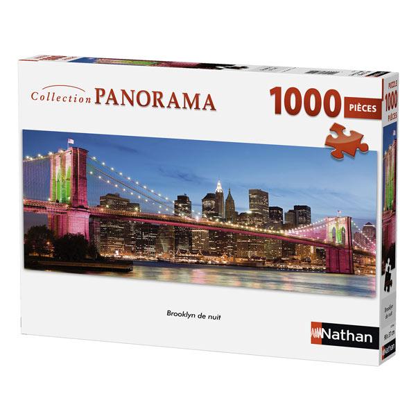 Puzzle 1000 pièces Nathan