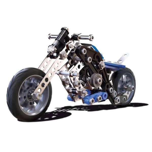 Motos 5 modèles Meccano