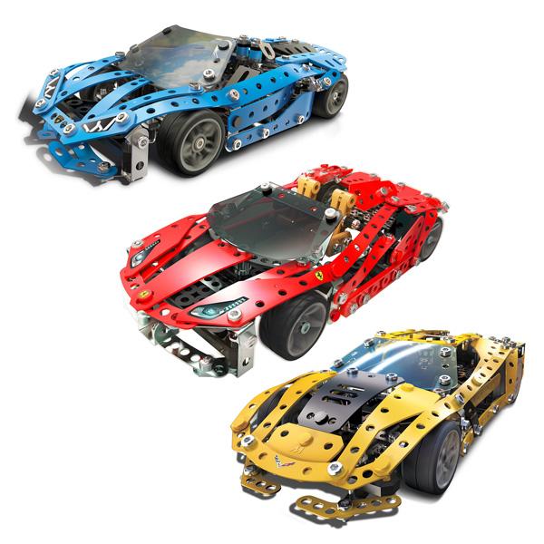 Voiture de sport construire meccano king jouet for Voiture a construire