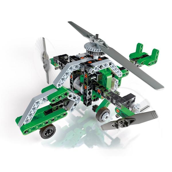 Mon atelier de mécanique-Hélicoptère et aéroglisseur