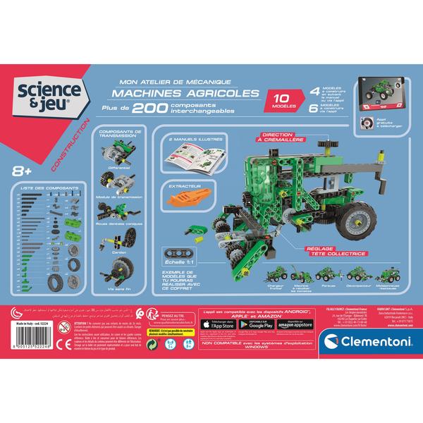 Mon atelier de mécanique - Machines agricoles