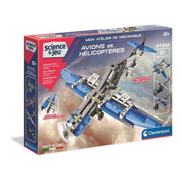 Mon atelier de mécanique-Avions et hélicoptères