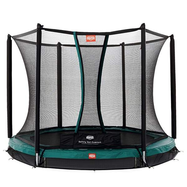 trampoline inground talent 240 avec filet berg king. Black Bedroom Furniture Sets. Home Design Ideas
