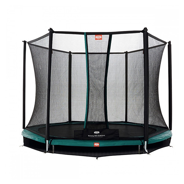 trampoline inground talent 300 avec filet safety net comfort berg king jouet trampolines berg. Black Bedroom Furniture Sets. Home Design Ideas