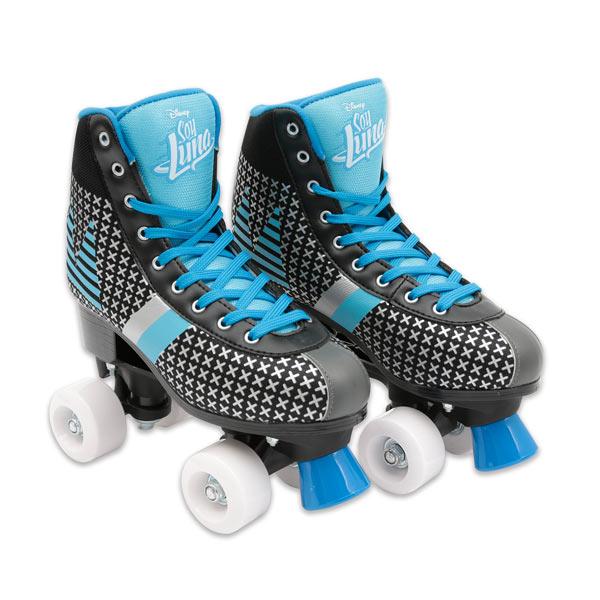Les patins à roulettes Soy Luna sont tendances et modernes. N´hésitez plus si vous avez la même passion que Luna, essayez les patins à roulettes Soy Luna pour des moments funs et inoubliables. Glissez comme votre héroïne Luna avec les patins Matteo de Soy