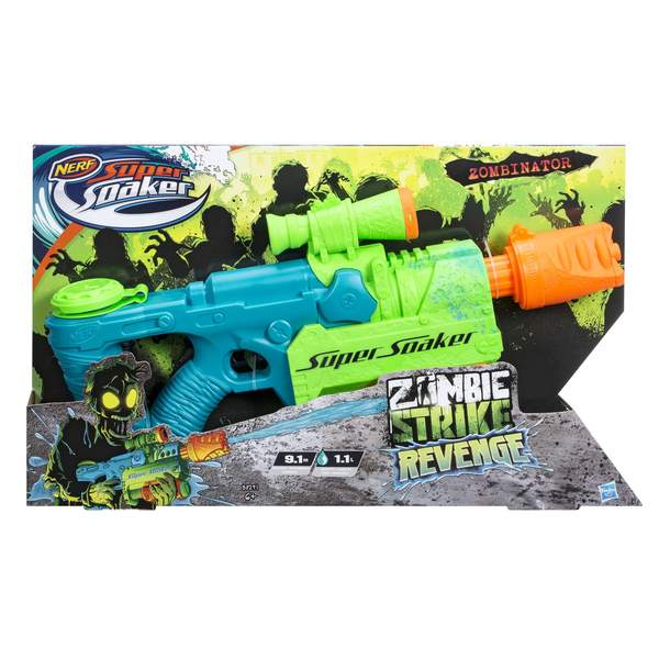 pistolet nerf super soaker zombie zombinator nerf king. Black Bedroom Furniture Sets. Home Design Ideas