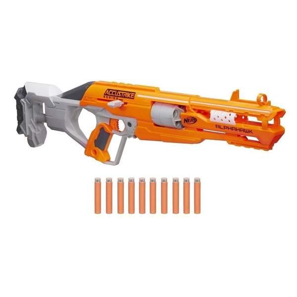 Nerf Elite- Pistolet Accu Alphahawk