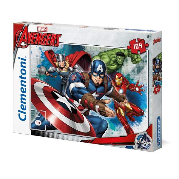 Puzzle 104 pièces Avengers