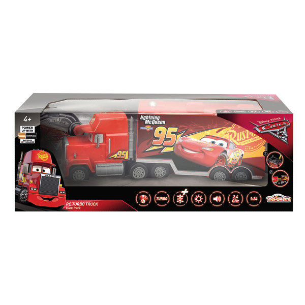 cars 3 majorette voiture rc mac truck 1 24 me majorette king jouet les autres v hicules. Black Bedroom Furniture Sets. Home Design Ideas