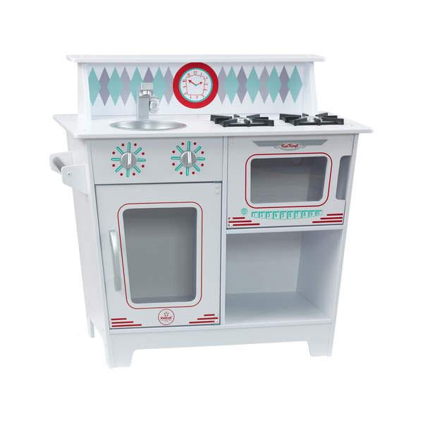 Petite cuisine classique blanche kidkraft king jouet - Cuisine blanche classique ...