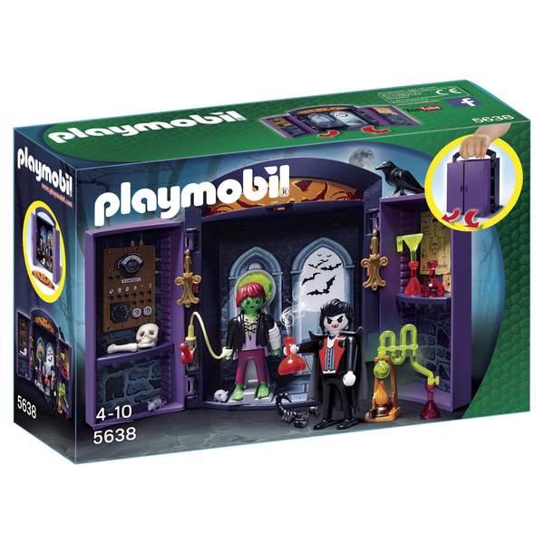 5638-Coffre vampire et mutant Playmobil