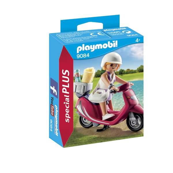9084 - Vacancière avec scooter Playmobil Summer Fun