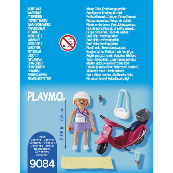 9084-Vacancière avec scooter Playmobil Summer Fun