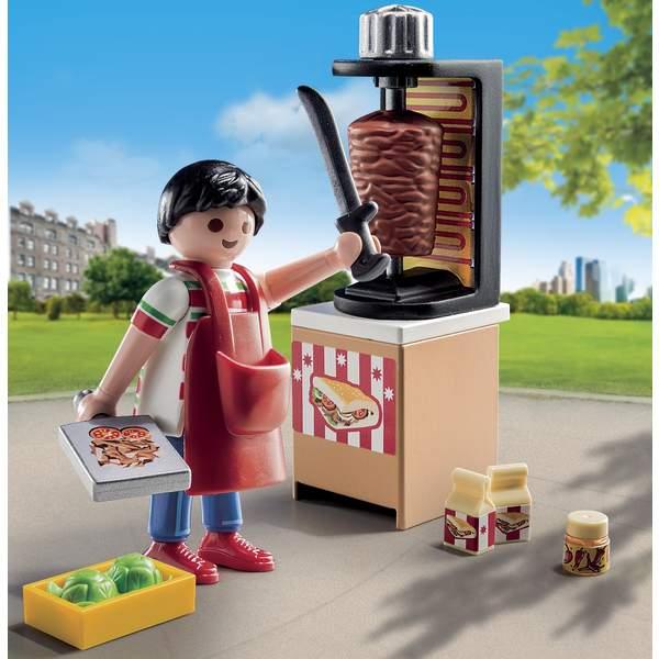 Kebab City 9088 Jouet LifeKing Playmobil Vendeur De nPk8wON0X