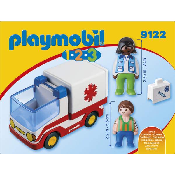 9122 - Ambulance Playmobil 1.2.3