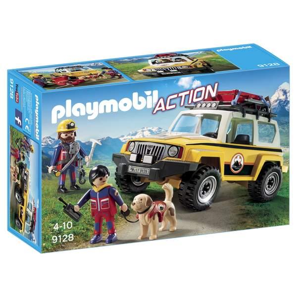 Cet ensemble Playmobil Action va compléter l´univers miniature de votre enfant et va stimuler son imagination. Il pourra inventer de nombreux sauvetages . Un randonneur s´est blessé à la jambe lors de l´ascension. Les secouristes des montagnes partent imm