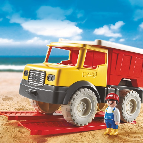 9142 - Camion tombereau avec seau - Playmobil Sand