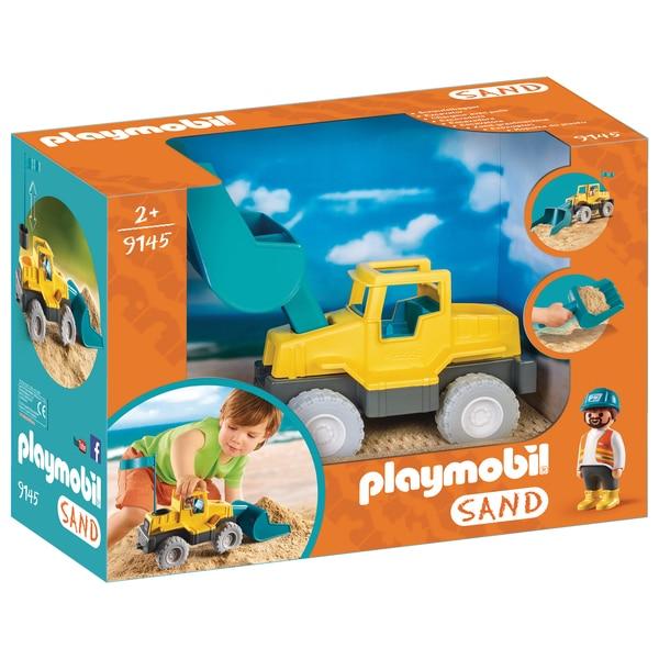 9145-Chargeur avec pelle-Playmobil Sand