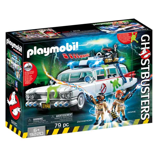 9220-Playmobil Ghostbusters véhicule Ecto-1