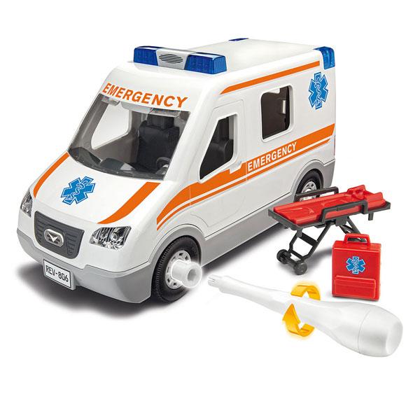 Maquette simple ambulance